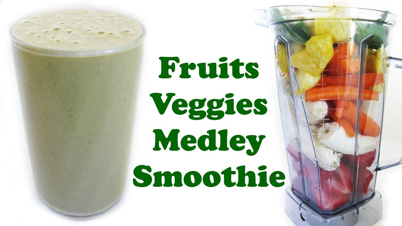 Fruit And Veg Smoothies Recipes  fruit and ve able smoothie recipes