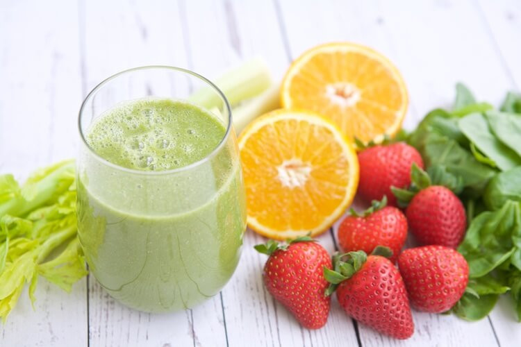 Fruit And Veg Smoothies Recipes  Strawberry Orange Green Smoothie Recipe Make Healthy Easy