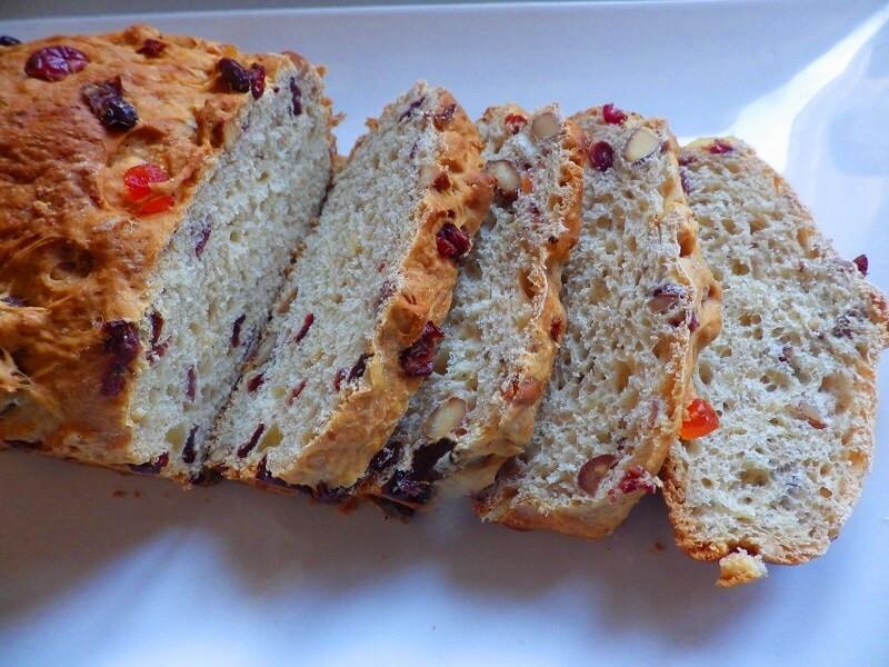Fruit Bread Recipes  Breakfast Fruit Bread