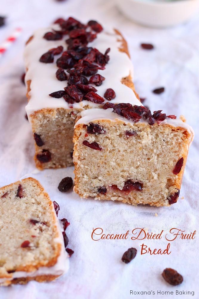 Fruit Bread Recipes  Coconut dried fruit bread recipe