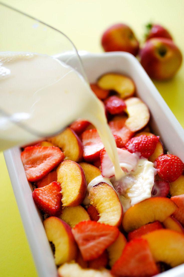 Fruit Breakfast Recipes  Summer Fruit Breakfast Bake Recipe