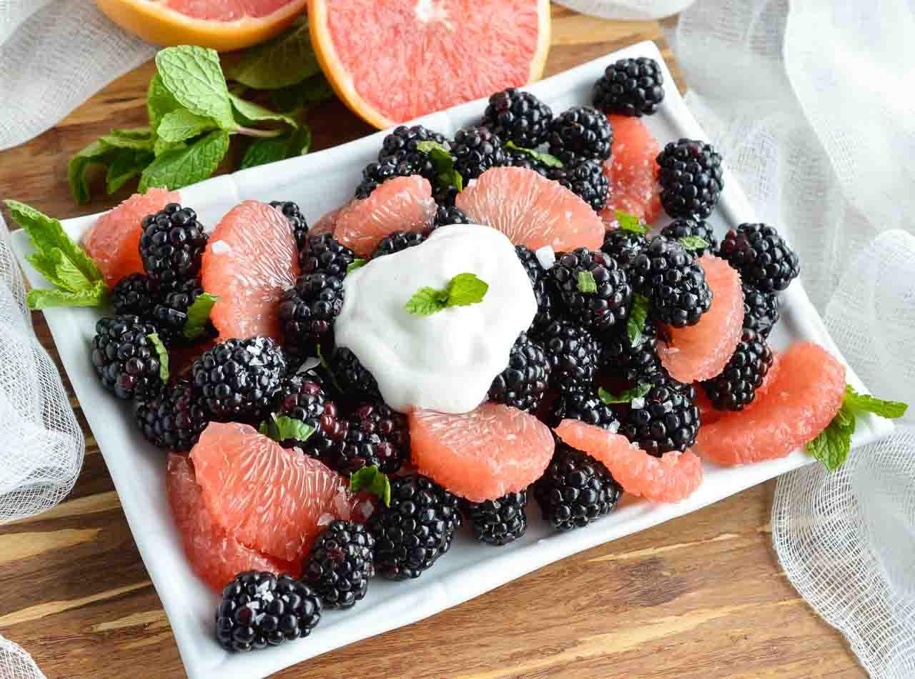 Fruit Breakfast Recipes  Fresh Fruit Salad WonkyWonderful
