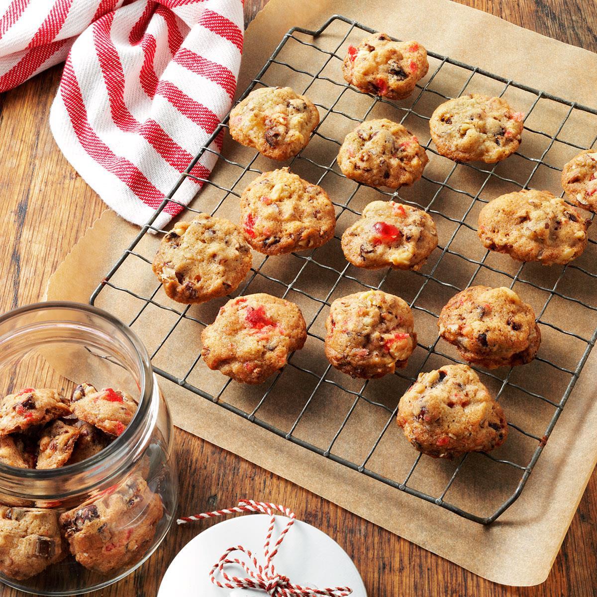 Fruit Cake Cookies  Fruitcake Christmas Cookies Recipe