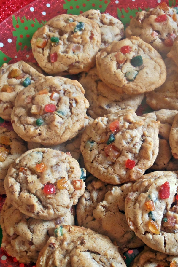 Fruit Cake Cookies  Jam Hands Chewy Fruitcake Cookies