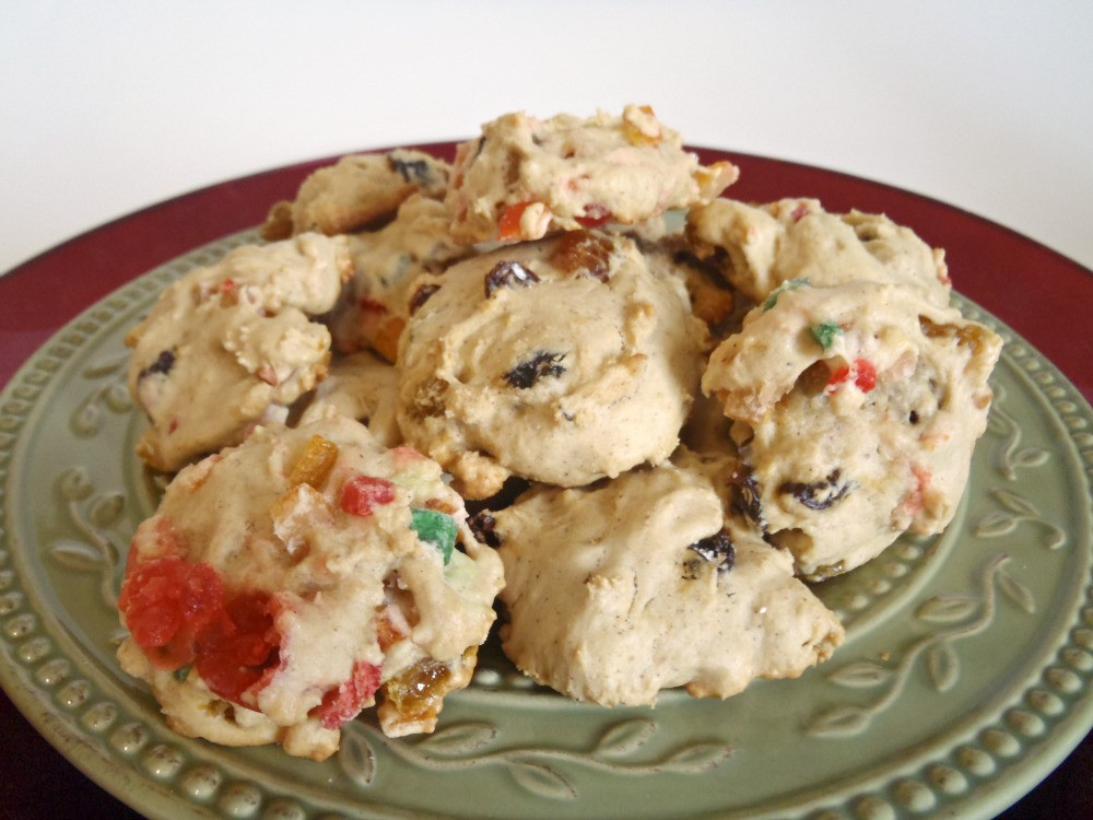 Fruit Cake Cookies  Aunt Peg s Recipe Box GEORGIA Fruitcake Cookies