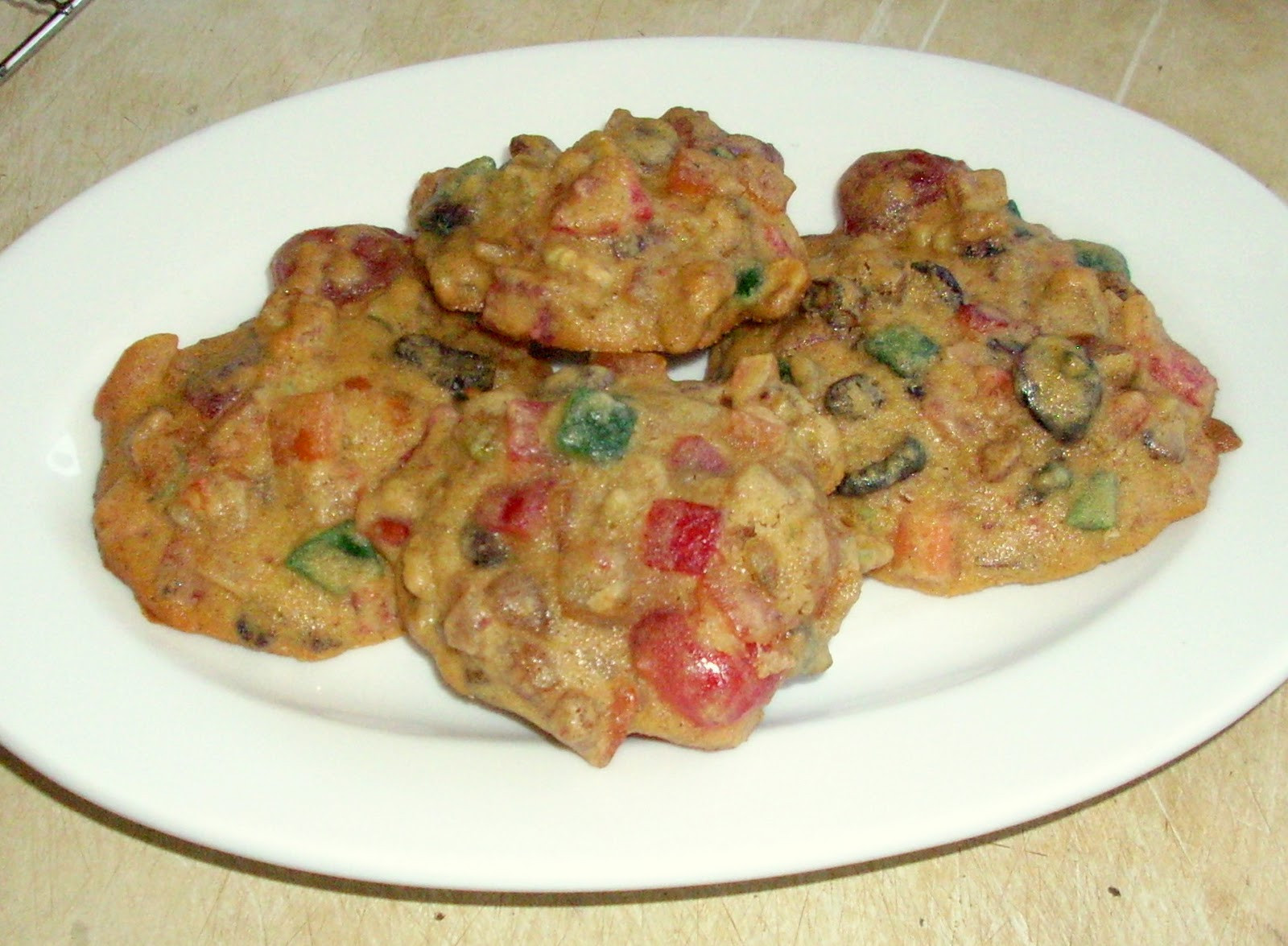 Fruit Cake Cookies  ಞFood For Thoughtಌ Day Five Fruitcake Cookies