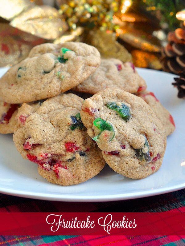 Fruit Cake Cookies  fruitcake cookies with sweetened condensed milk