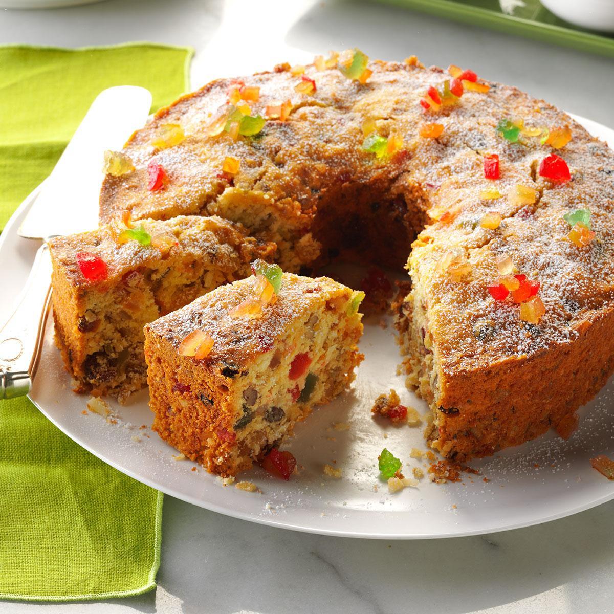 Fruit Cake Recipe  Coconut Fruitcake Recipe