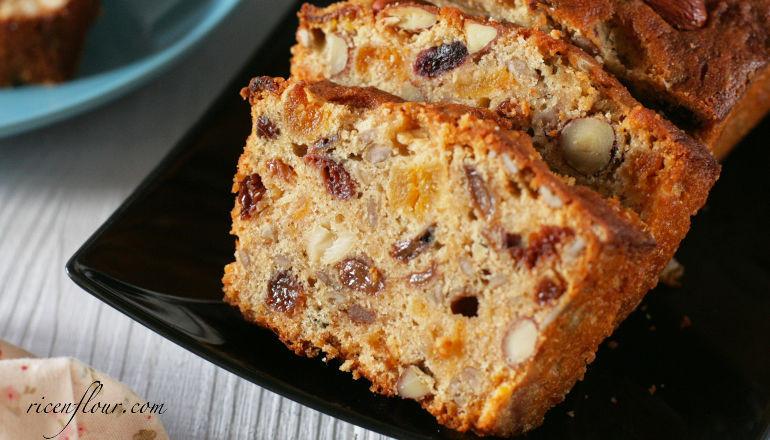 Fruit Cake Recipe  How to make Christmas Fruit Cake Recipe with video