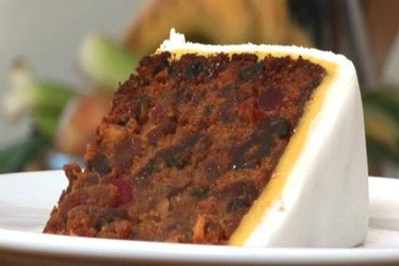 Fruit Cake Recipe Rum  Rich Traditional British Fruit Cake with Fondant and Marzipan