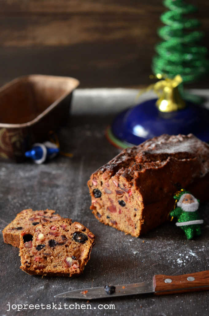 Fruit Cake Recipe Rum  Christmas Fruit and Rum Cake Plum Cake Bacardi Rum