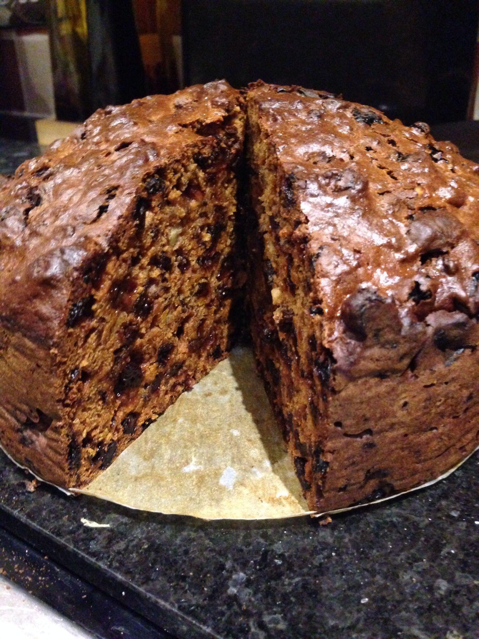 Fruit Cake Recipe  Rich dark fruit cake recipe All recipes UK