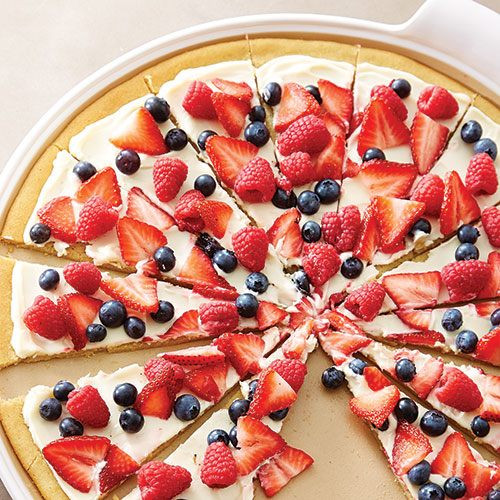Fruit Dessert Pizza  Dessert Pizza Recipes