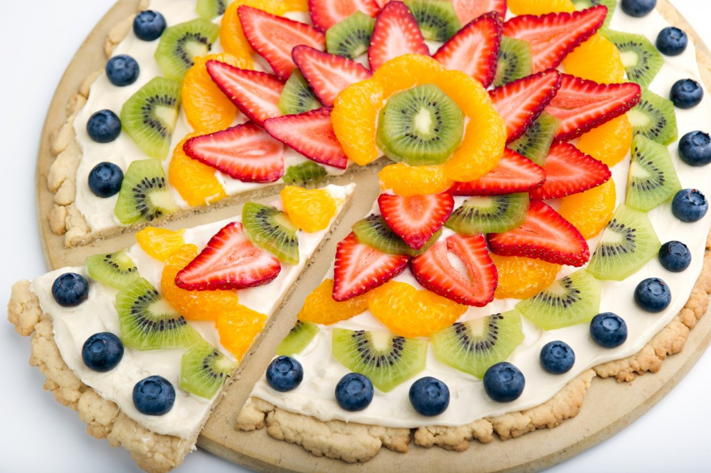 Fruit Dessert Pizza  Fruit Pizza Essential Living for NW Essential Oils for