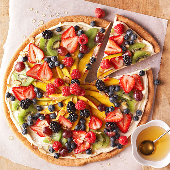 Fruit Dessert Pizza  Dessert Fruit Pizza