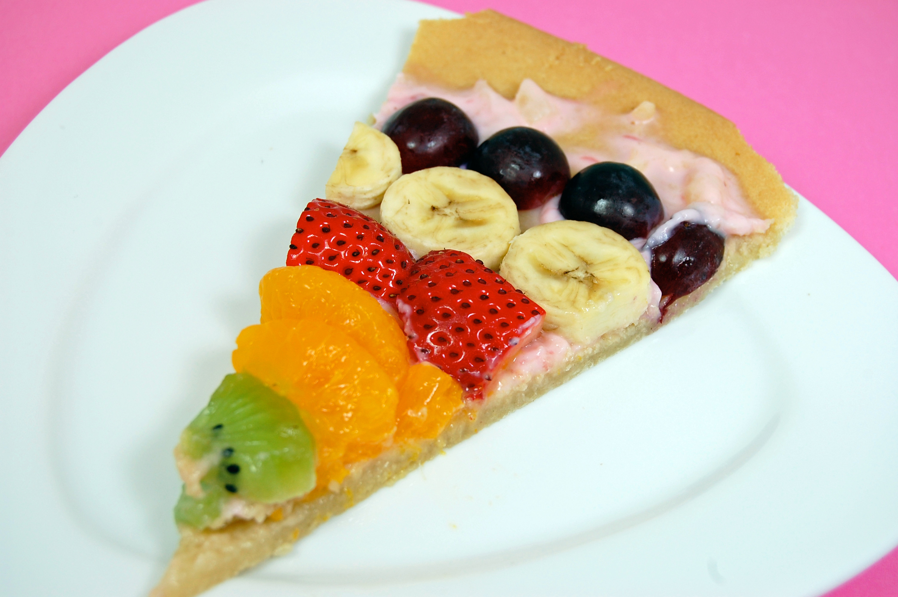 Fruit Dessert Pizza  Fruit Dessert Pizza