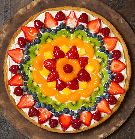 Fruit Dessert Pizza  Delicious Fruit Pizza Recipe on Daytimes Daytimes