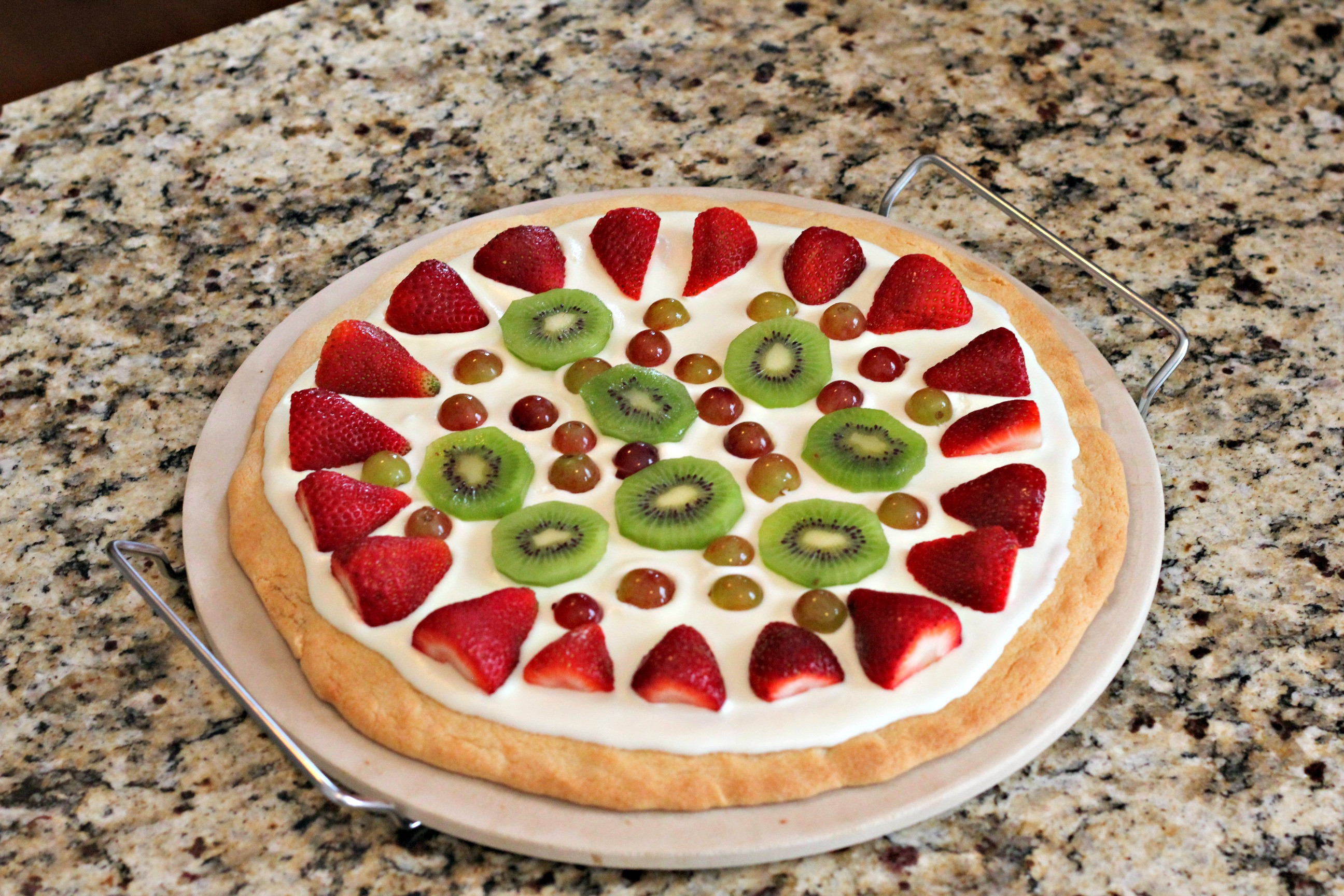 Fruit Dessert Pizza  Fruit Pizza Dessert