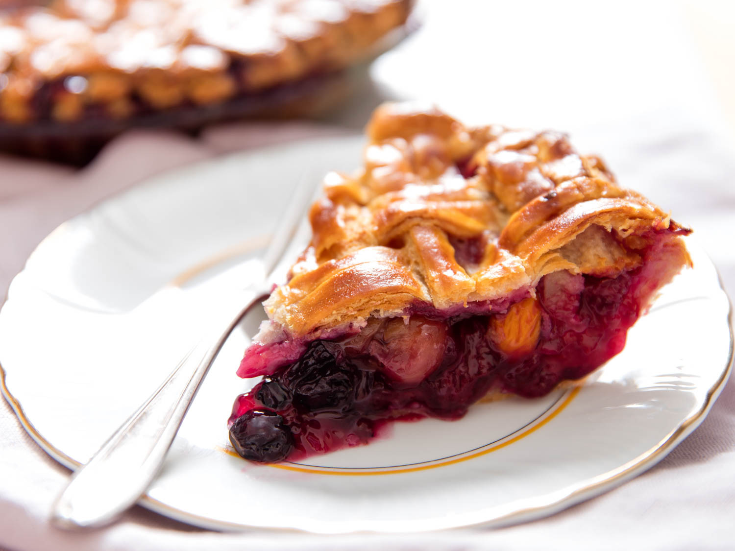 Fruit Pie Recipes  Late Summer Mixed Fruit Pie Recipe
