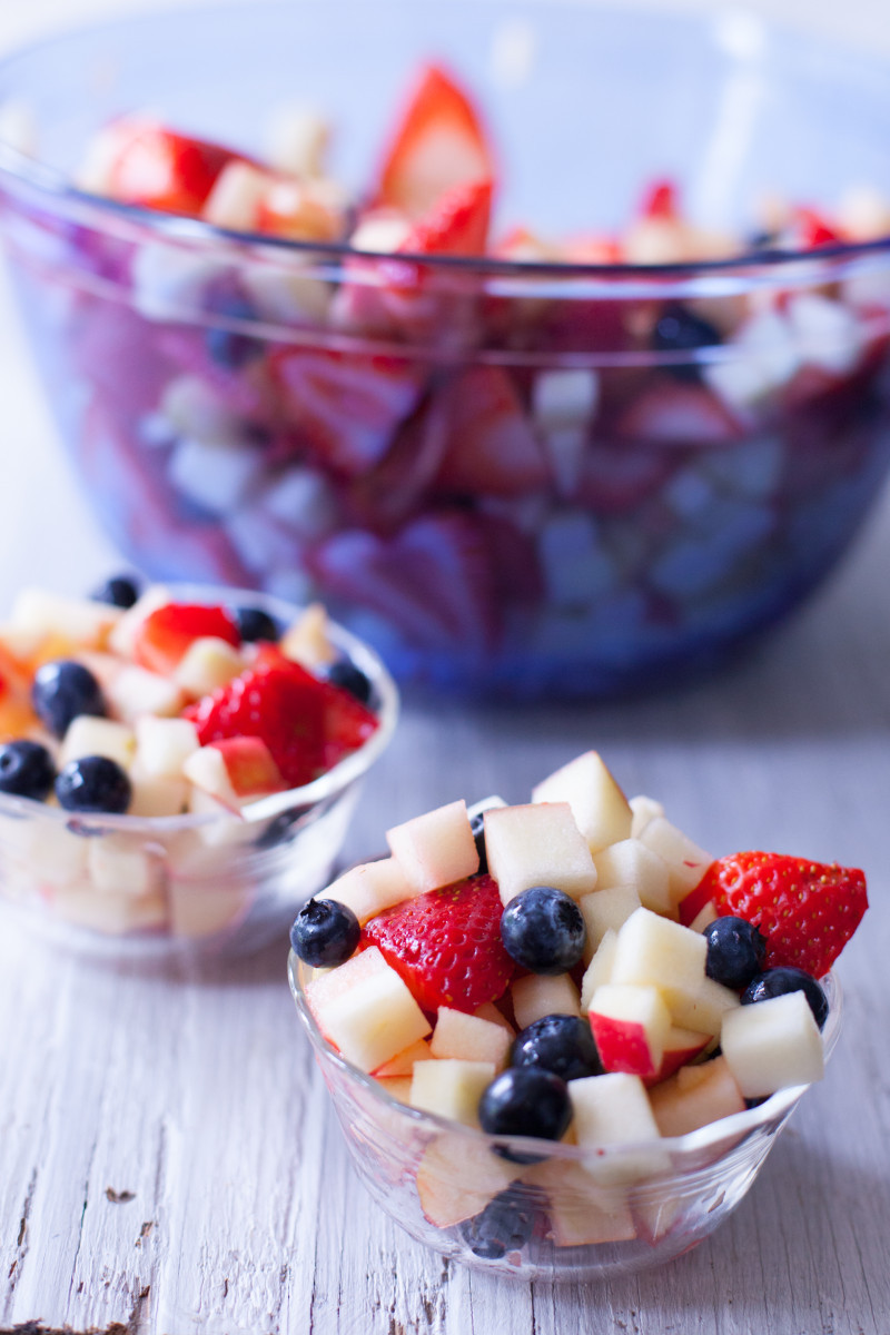 Fruits Snacks Recipes  4th of July Snacks that Kids Can Make