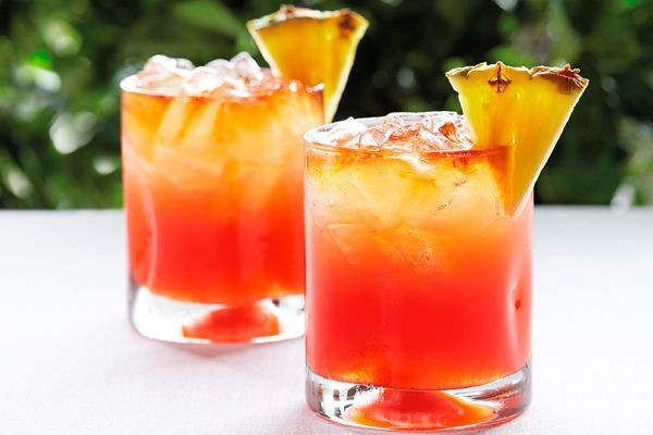 Fruity Drinks With Rum  Very Fruity Rum Punch Recipe