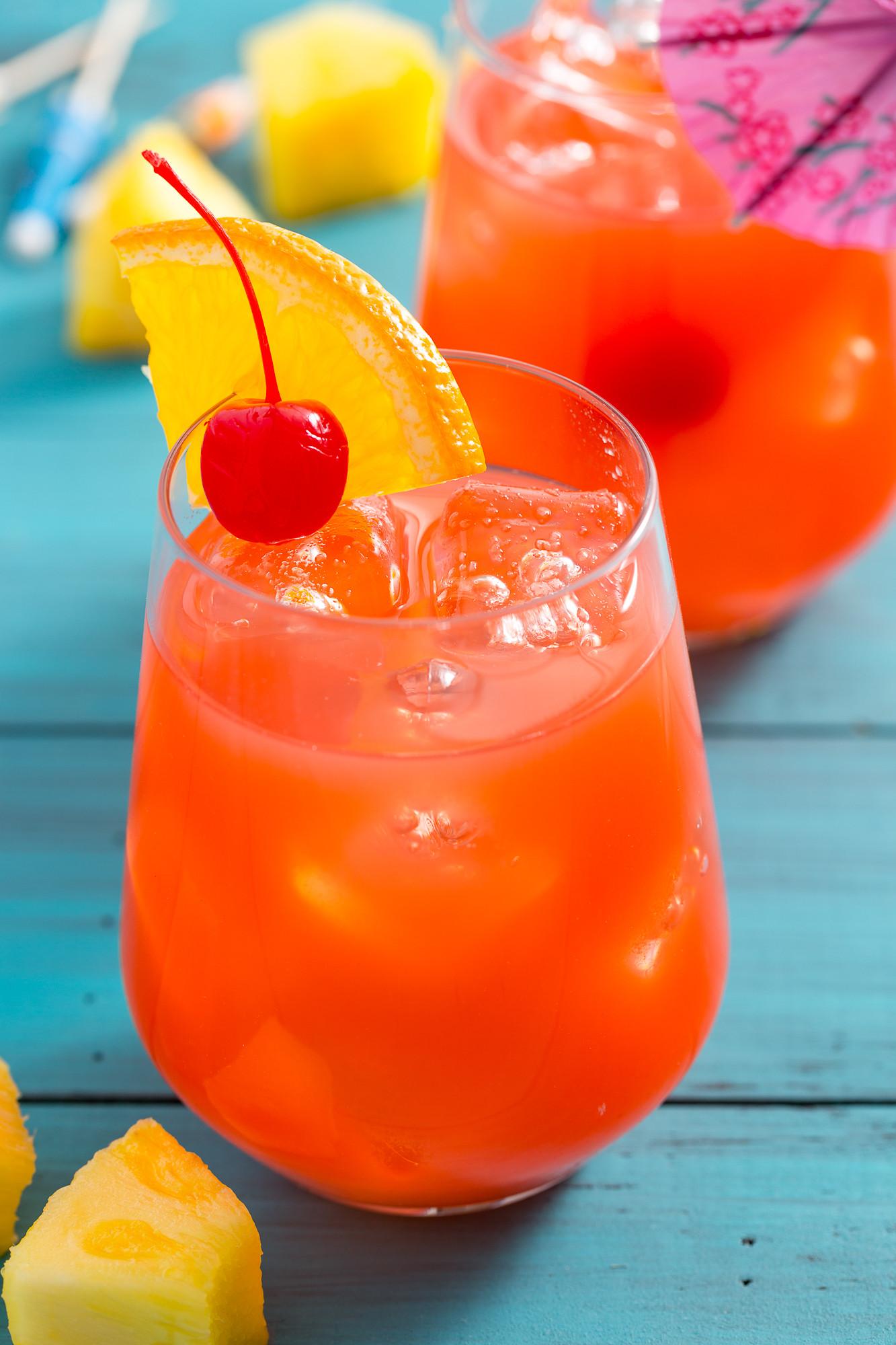 Fruity Drinks With Rum  Hurricane Drink Recipe