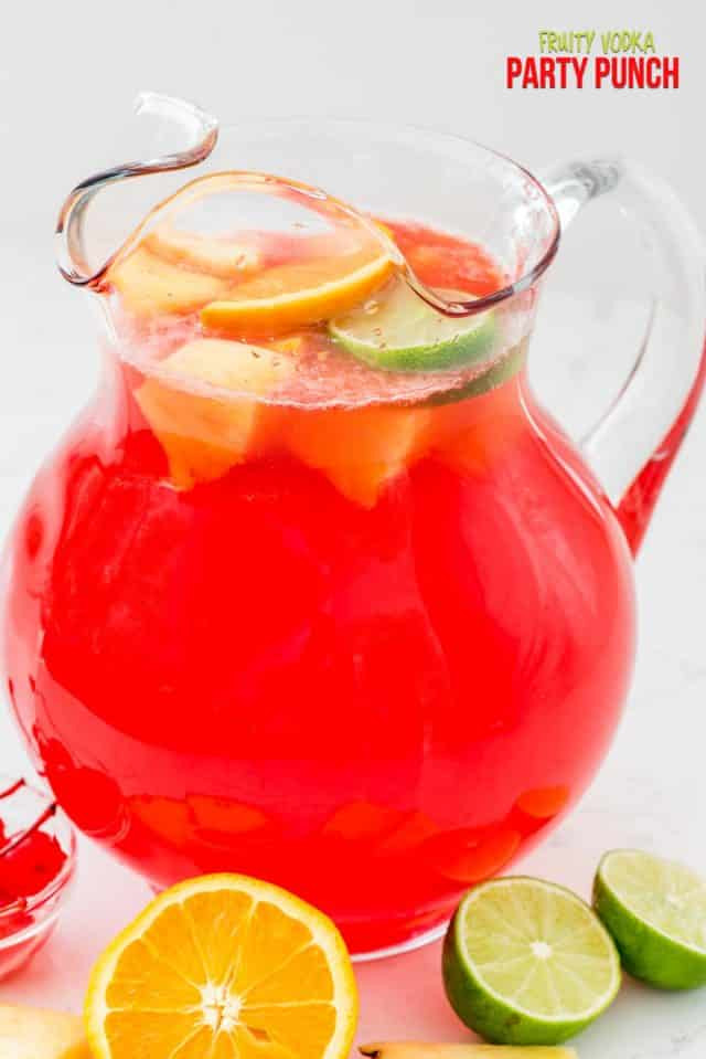Fruity Mixed Drinks With Vodka  Fruity Vodka Party Punch Crazy for Crust