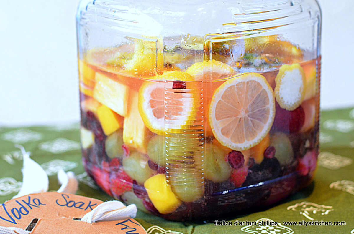 Fruity Mixed Drinks With Vodka  vodka infused gypsy fruit drink vodka drinks ally s kitchen