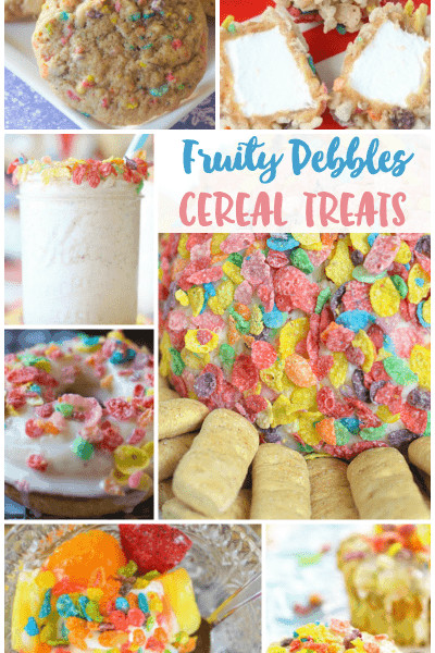 Fruity Pebbles Desserts  recipe Archives Sunny Sweet Days