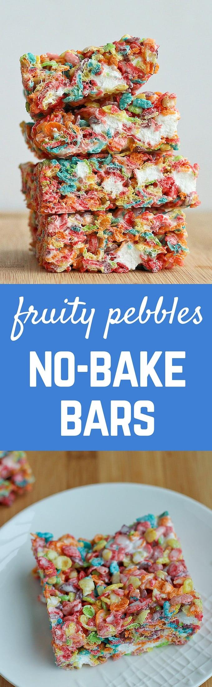 Fruity Pebbles Desserts  Fruity Pebbles No Bake Bars VIDEO Rachel Cooks