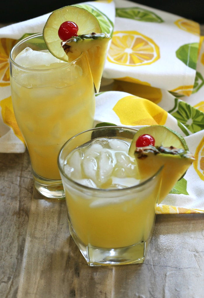Fruity Tequila Drinks  Patron Pineapple Cocktail Fruity Tequila Drink with a