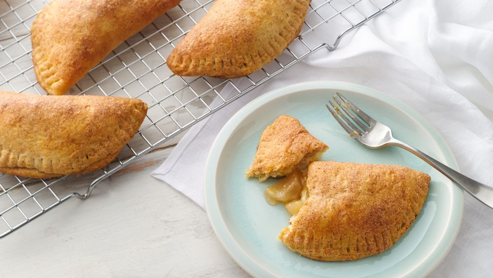 Fry Apple Pie Recipe  Oven Fried Apple Pies recipe from Pillsbury