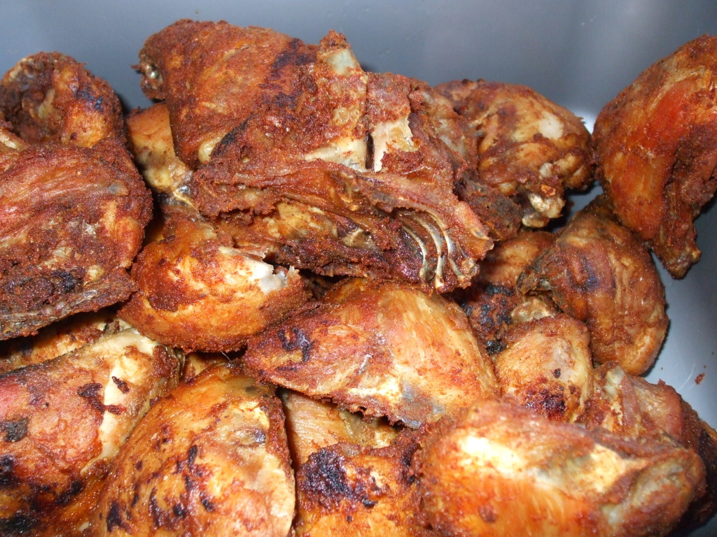 Frying Chicken Thighs  Fried Chicken Thighs spicyfafa