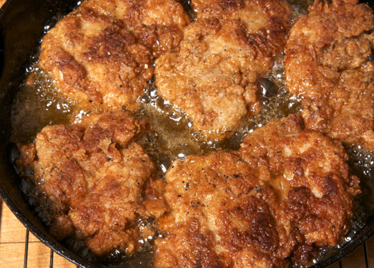 Frying Chicken Thighs  Pan Fried Chicken Thighs