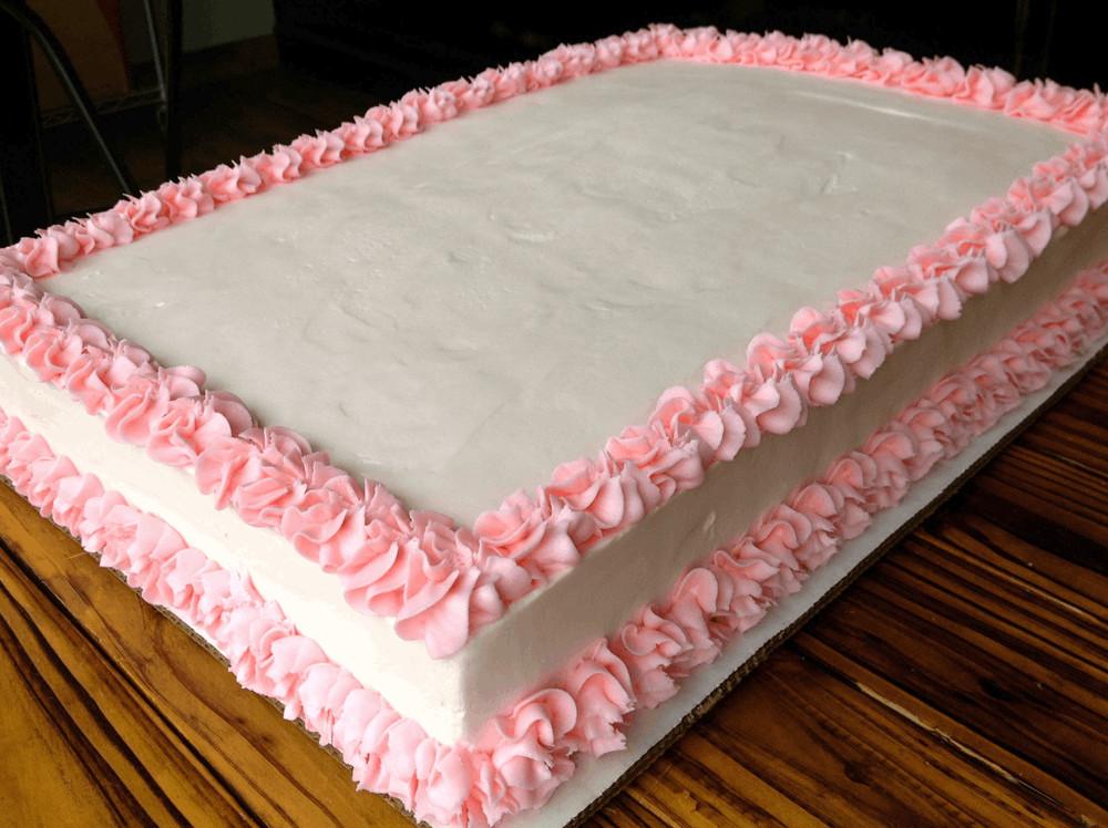 Full Sheet Cake  Full Sheet Cake