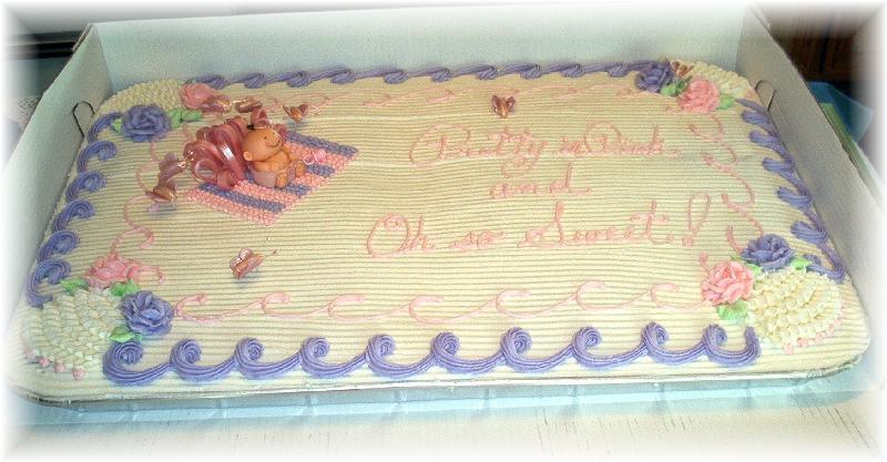 Full Sheet Cake  I Hate Sheet Cakes CakeCentral