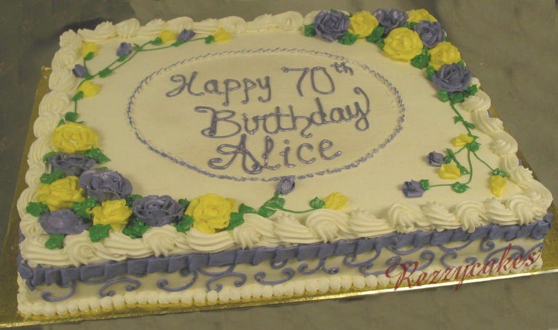 Full Sheet Cake  birthday sheet cakes Full Sheet Cake