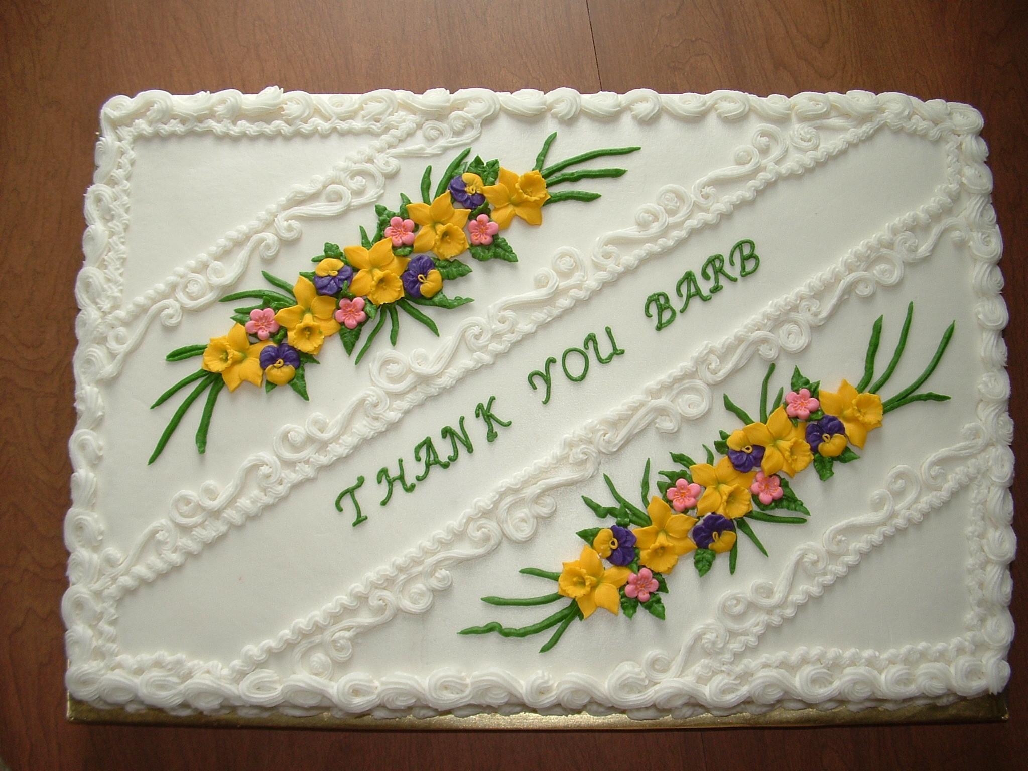 Full Sheet Cake  Full Sheet Cake For A Geto her In Honor Our Pastor