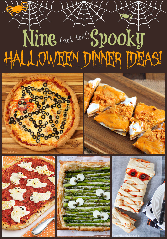 Fun Dinner Recipes  Fun Halloween Dinner Ideas The Weary Chef