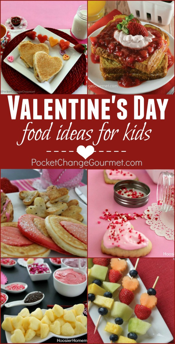 Fun Dinner Recipes  Valentine Food Ideas for Kids Recipe