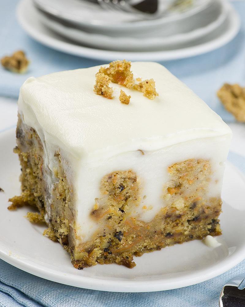 Fun Easy Dessert Recipes  Carrot Cake Poke Cake OMG Chocolate Desserts