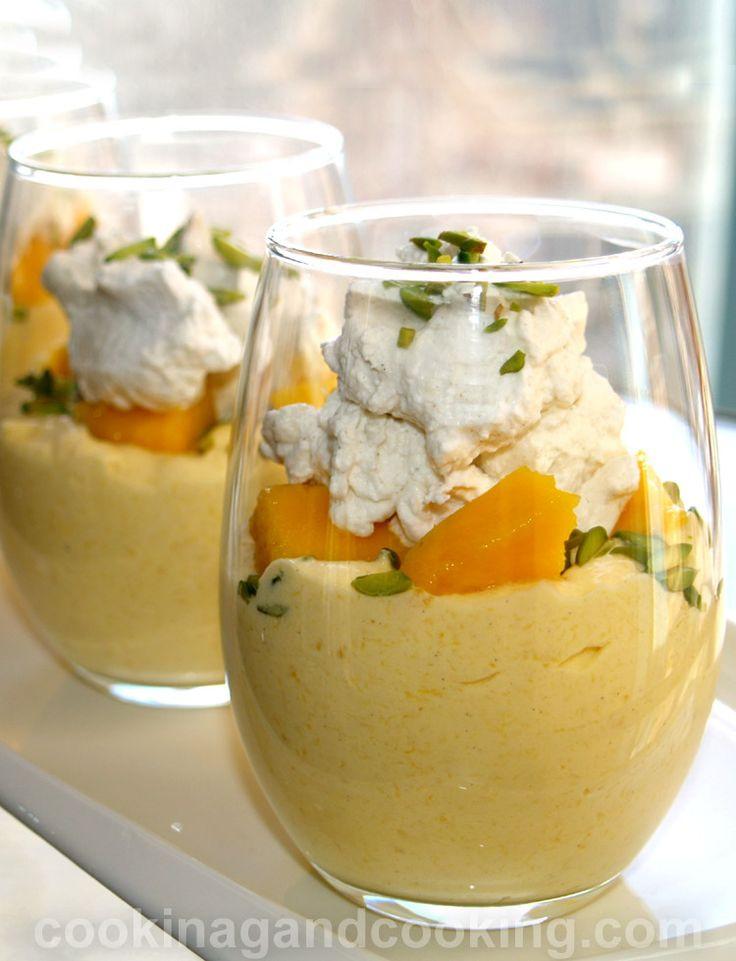Fun Easy Dessert Recipes  Mango Cream recipe is a rich creamy dessert with fresh