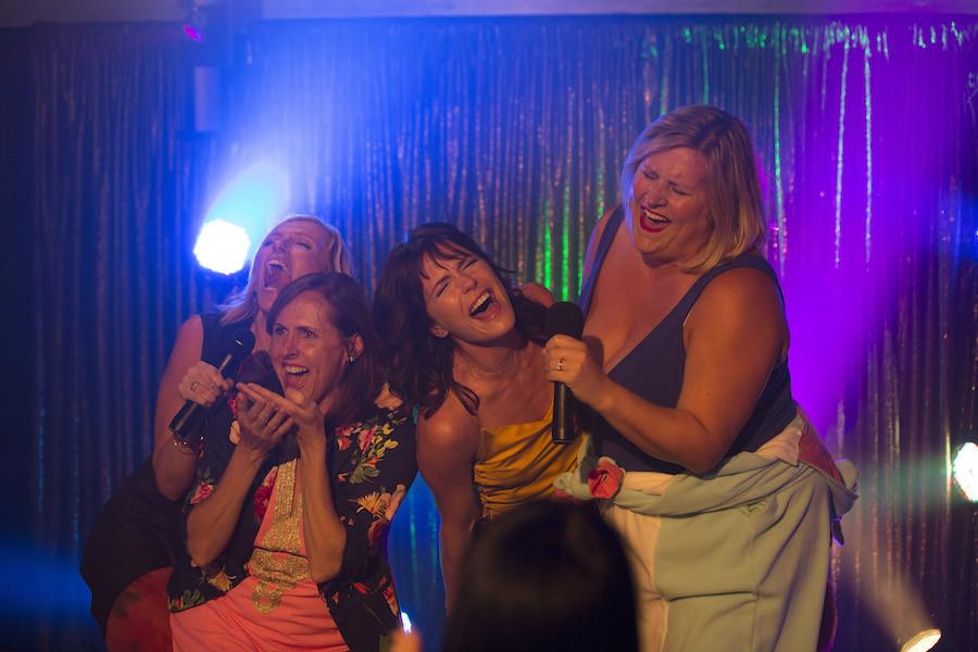 Fun Mom Dinner Movie  Fun Mom Dinner Girls Night Out Movie and Visa Card Wine