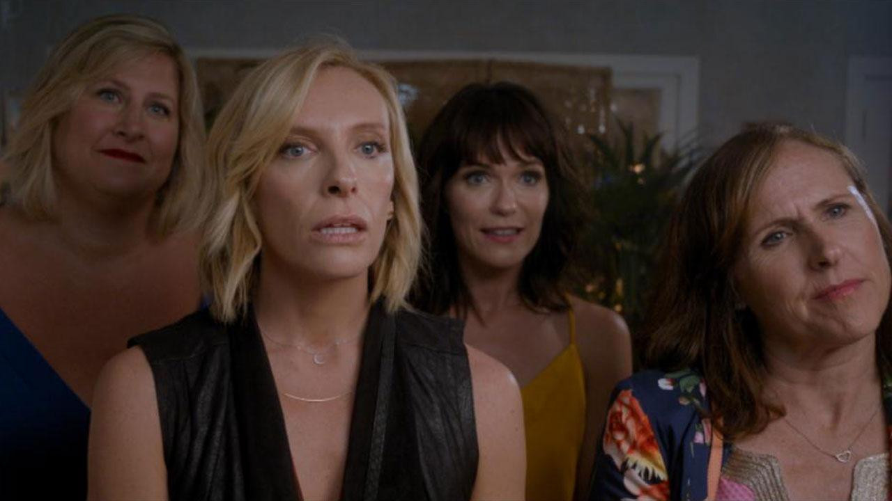 Fun Mom Dinner Movie  Molly Shannon and Toni Collette Go From Preschool to