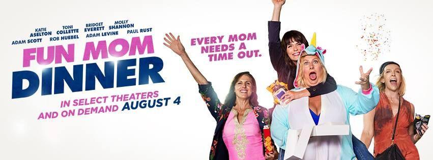 Fun Mom Dinner Movie  Fun Mom Dinner Movie $50 Visa Gift Card and Wine Giveaway