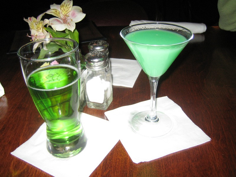 Fun Vodka Drinks  Green Drink Recipes For St Patrick s Day Green Beer