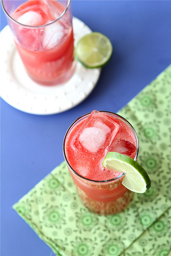 Fun Vodka Drinks  Watermelon Limeade Vodka Cocktail Recipe & TV Fun