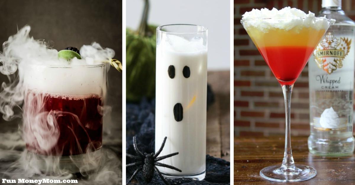 Funny Halloween Drinks  Frightfully Fun Halloween Cocktails