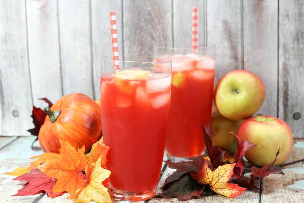 Funny Halloween Drinks  Poison Apple Halloween Drink for Kids