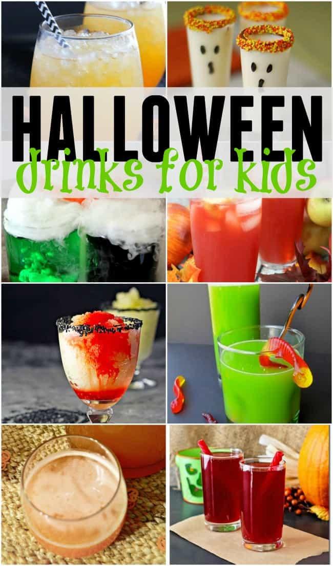 Funny Halloween Drinks  Halloween Drinks for Kids